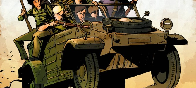 Peter Panzerfaust, Vol. 1 discussion at Destiny City Comics