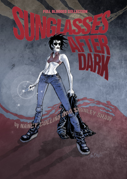 Meet the Artist! Sunglasses After Dark signing with local creator Stan Shaw.
