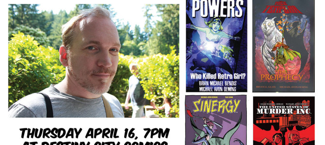 Meet the Artist! A chat with Michael Avon Oeming