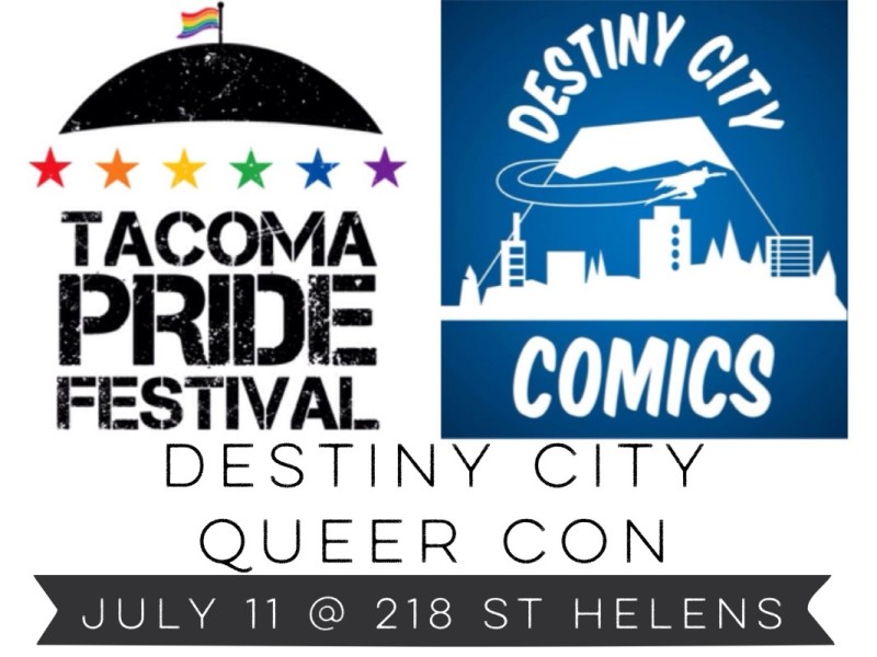 Destiny City Queer Con! Meet artists and cosplayers