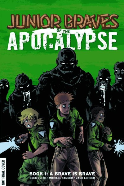 Meet the Author! Junior Braves of the Apocalypse signing at Destiny City Comics on Third Thursday