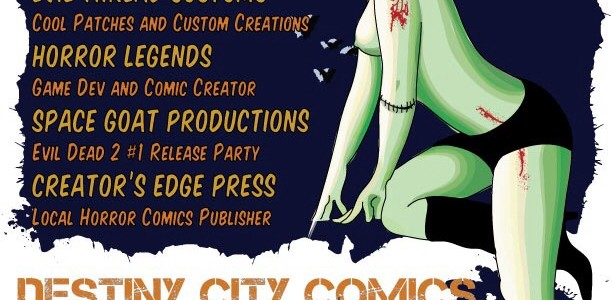 Destiny City Freakycon – A mini-horror convention!