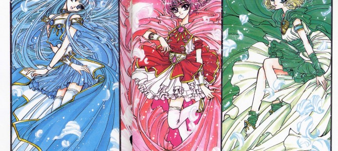 Magic Knight Rayearth discussion at Destiny City Comics