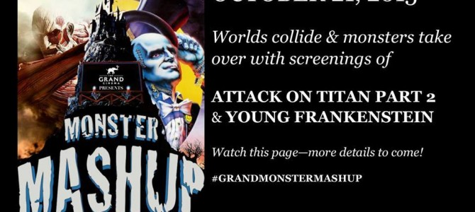 Destiny City Comics at The Grand Cinema's Monster Mashup