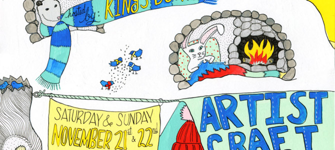 Artist's Craft Fair at King's Books and Destiny City Comics