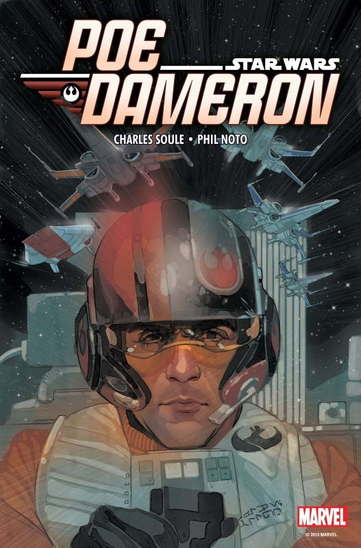 Star Wars Poe Dameron Launch Party at Destiny City Comics