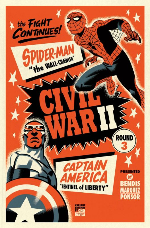 Midnight Launch of Civil War II #3