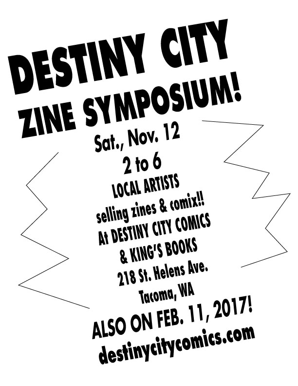 Destiny City Fall Zine Symposium
