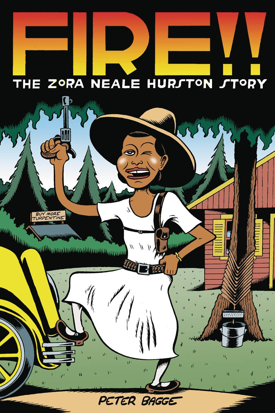Meet Peter Bagge author of Fire!! The Zora Neale Hurston Story