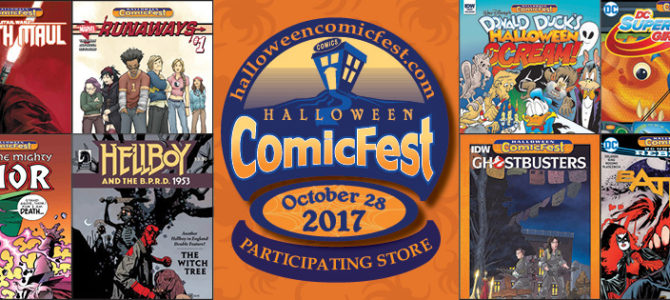 Halloween ComicFest at Destiny City Comics!