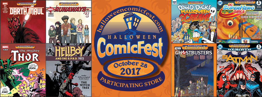 Halloween ComicFest at Destiny City Comics! – Destiny City Comics