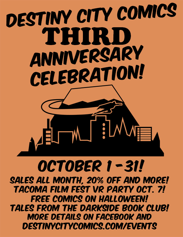 Third Anniversary Celebration!