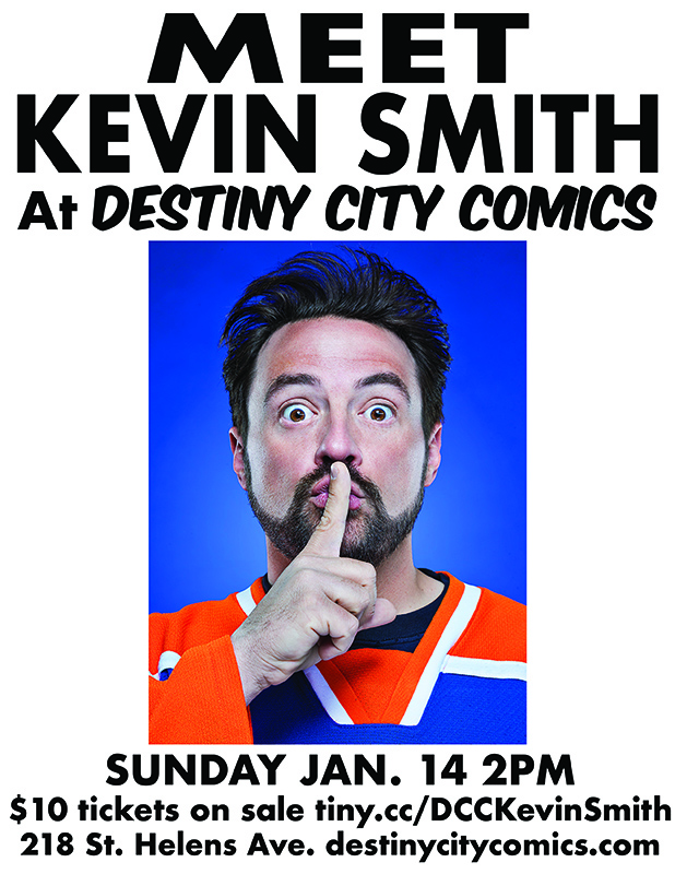 Meet Kevin Smith at Destiny City Comics!