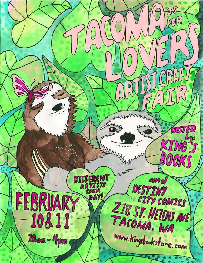 Tacoma is for Lovers Valentine's Craft Fair!
