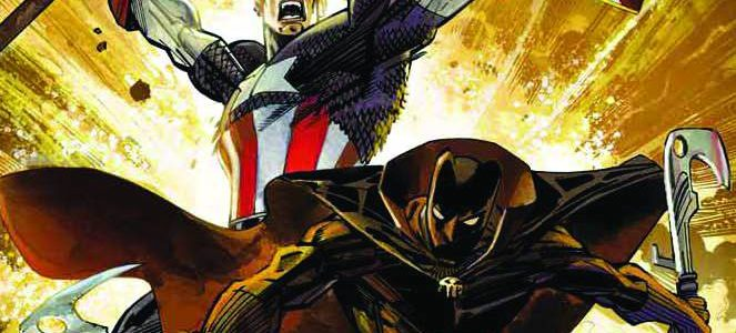 Captain America/Black Panther Flags of our Fathers book club