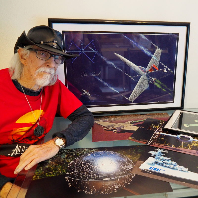 Meet designer of the Death Star, Colin Cantwell