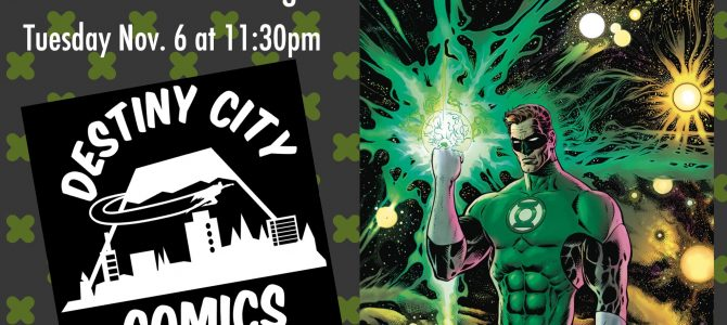 Green Lantern #1 Midnight Release Party