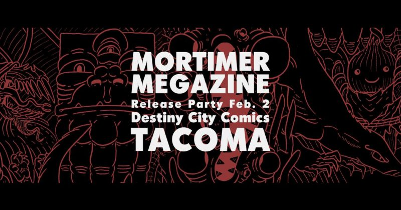 Mortimer Megazine Release Party!
