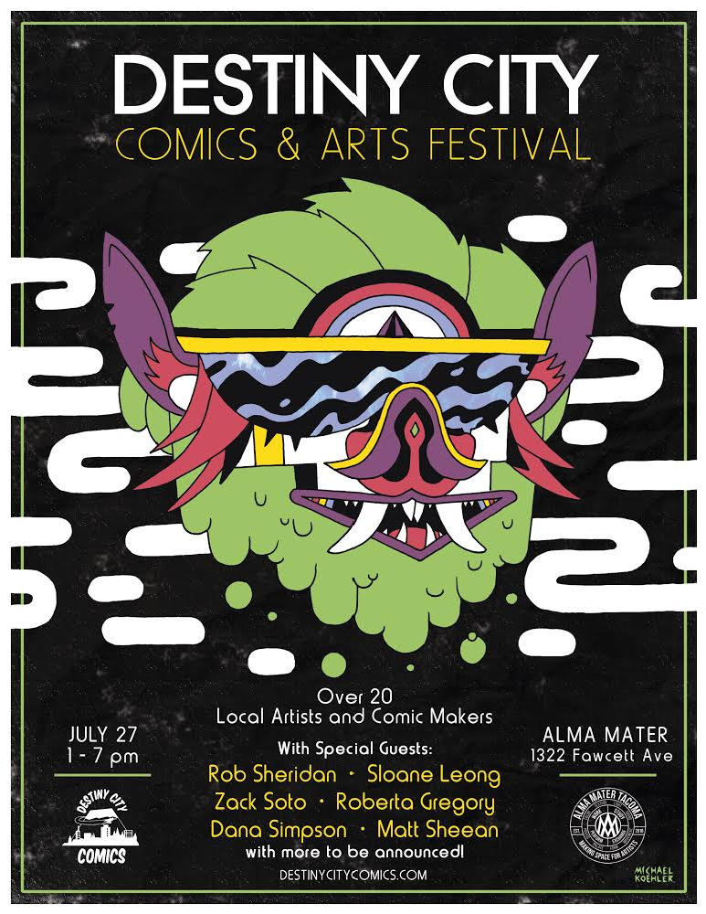 Destiny City Comics & Arts Festival 2019 at Alma Mater